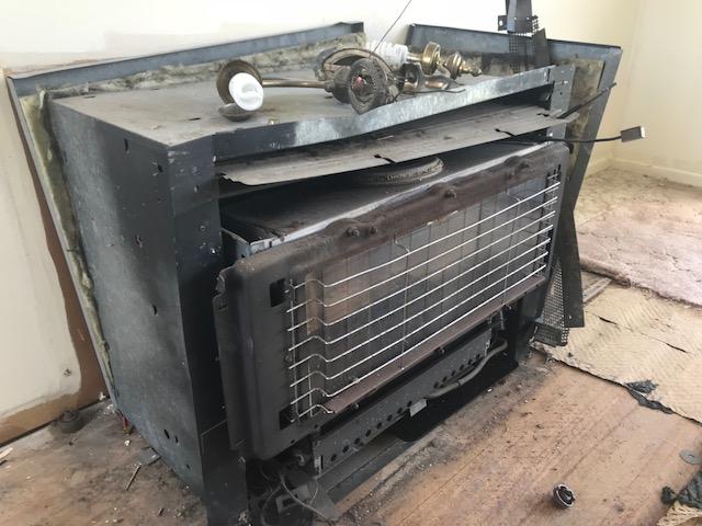 asbestos heater